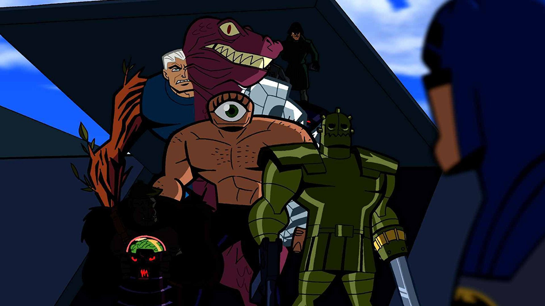 The Brain, Mallah, and their Brotherhood became enemies of the Doom Patrol.  Their criminal activities would also pit them against the Teen Titans.