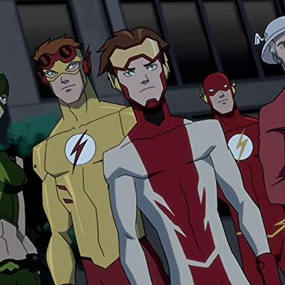 Bart Allen, Impulse, Ray Palmer, Kid Flash, The Atom, Lead Singer