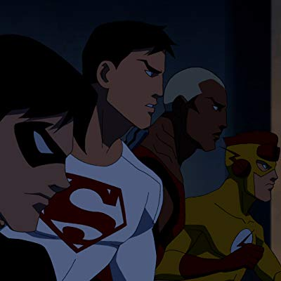 Wally West, Kid Flash, Billy Batson, Monkey, S.T.A.R. Driver #2