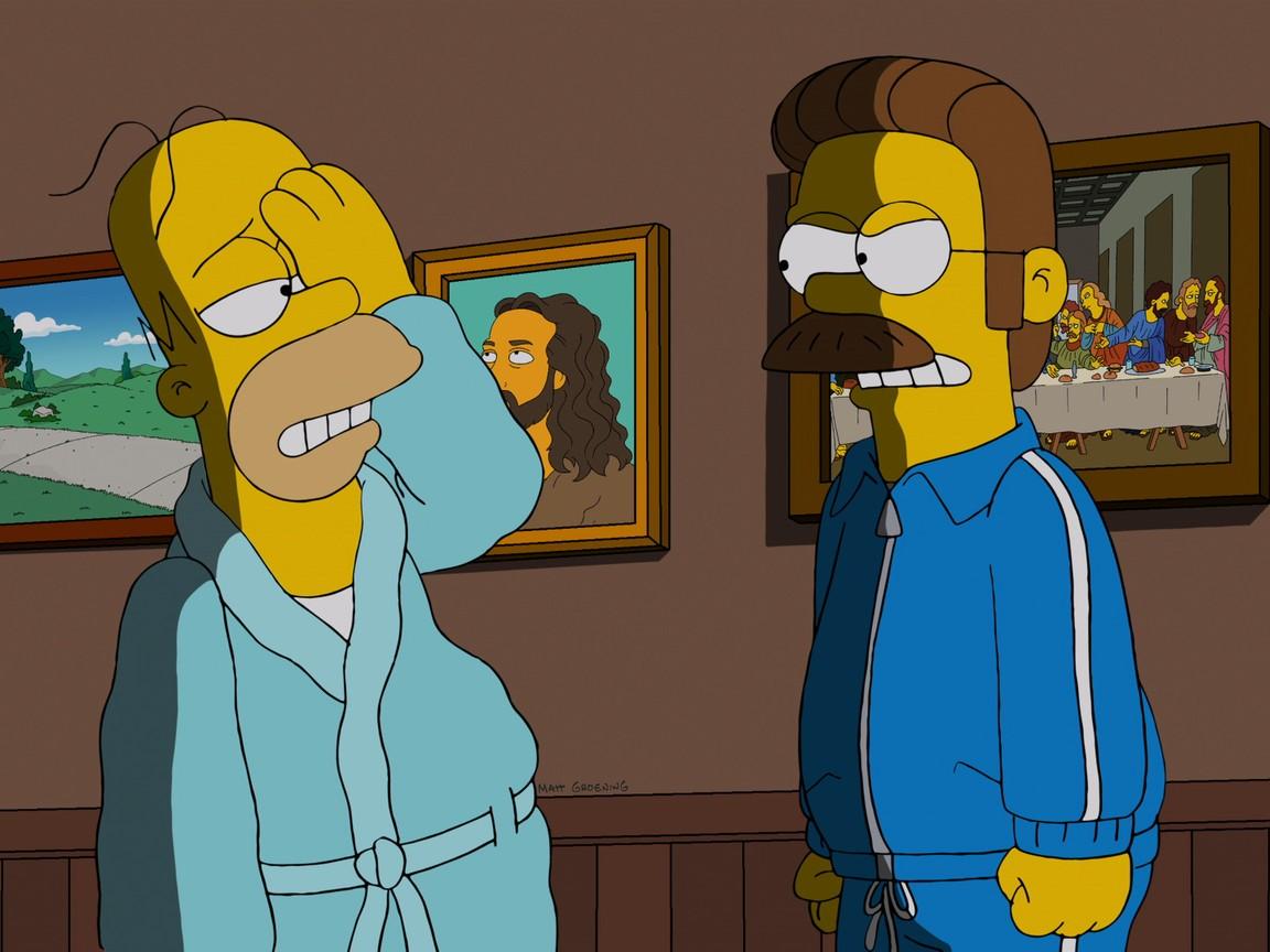 The Simpsons - Season 24 Episode 15: Black-eyed, Please