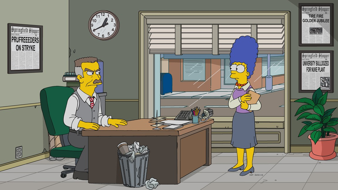 The Simpsons- Season 29 Episode 13: 3 Scenes Plus a Tag from a Marriage