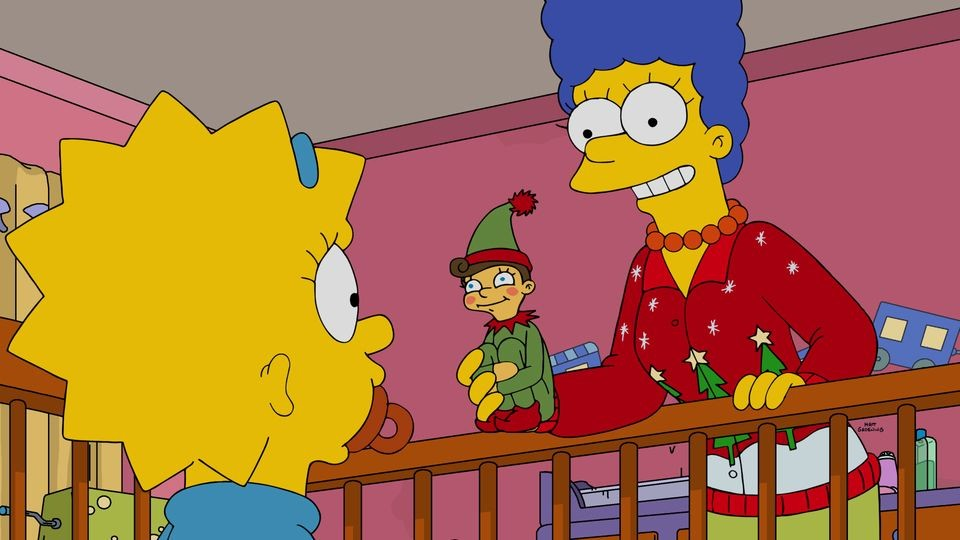 The Simpsons - Season 28 Episode 10: The Nightmare After Krustmas