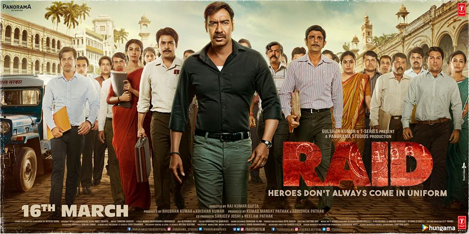 Raid (2018) [Audio: Hindi]