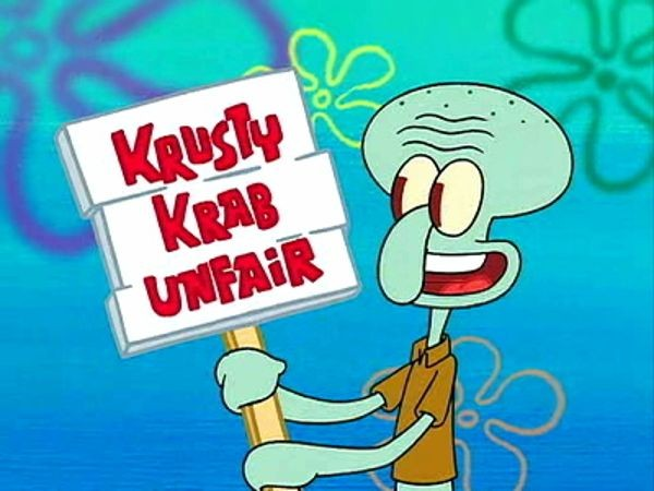 SpongeBob SquarePants - Season 2 Episode 39: Squid on Strike