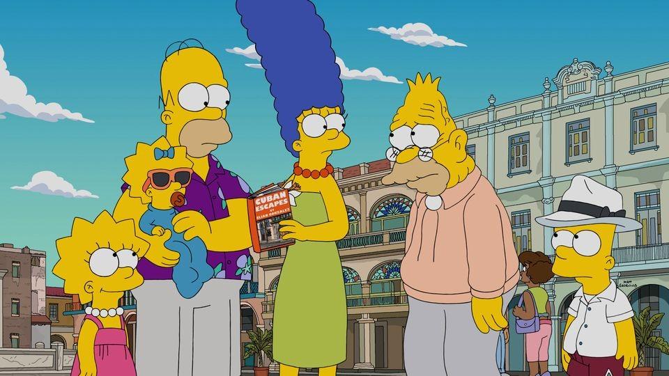 The Simpsons - Season 28 Episode 07: Havana Wild Weekend