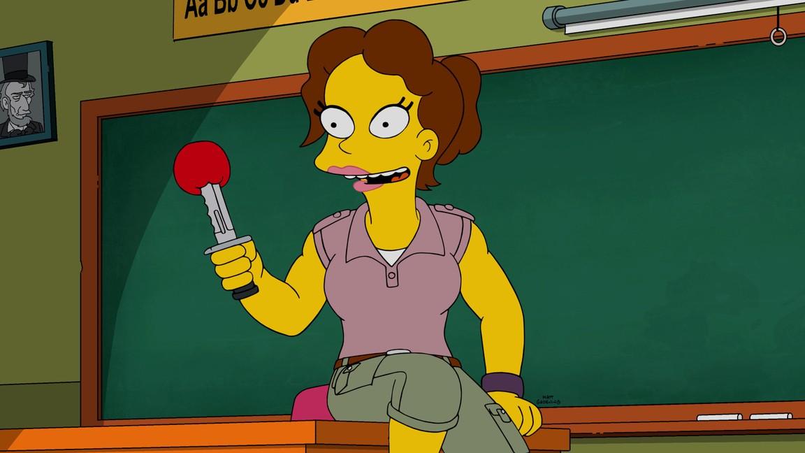 The Simpsons - Season 27 Episode 11: Teenage Mutant Milk-caused Hurdles