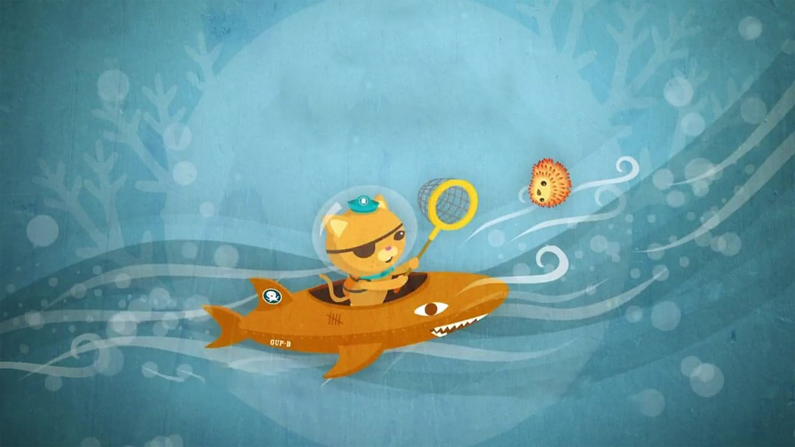 The Octonauts - Season 1 Episode 02: The Undersea Storm