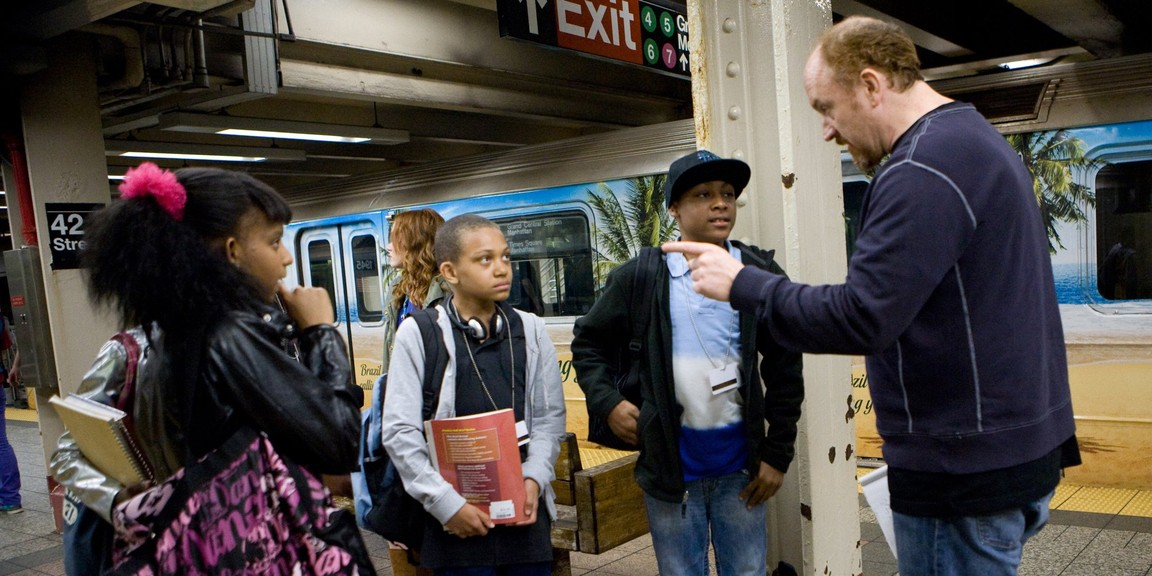 Louie - Season 2 Episode 06: Subway / Pamela