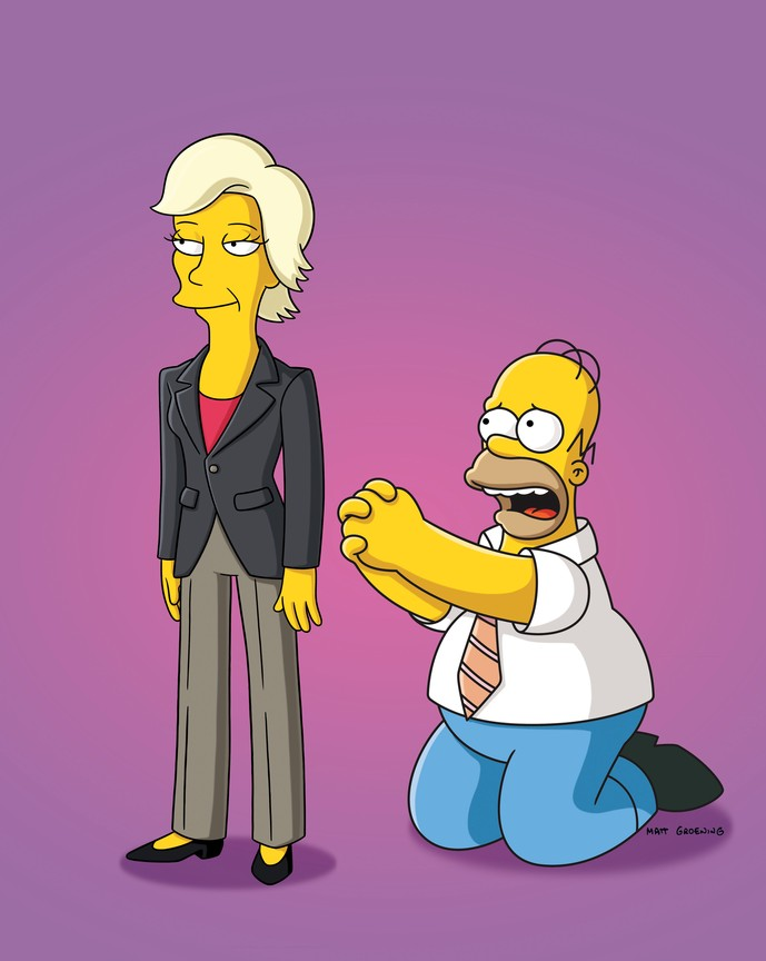 The Simpsons - Season 23 Episode 4: Replaceable You