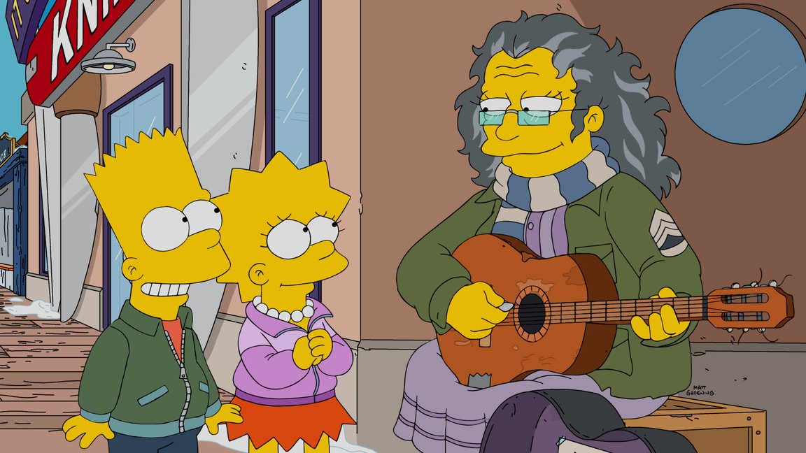 The Simpsons - Season 27 Episode 14: Gal of Constant Sorrow