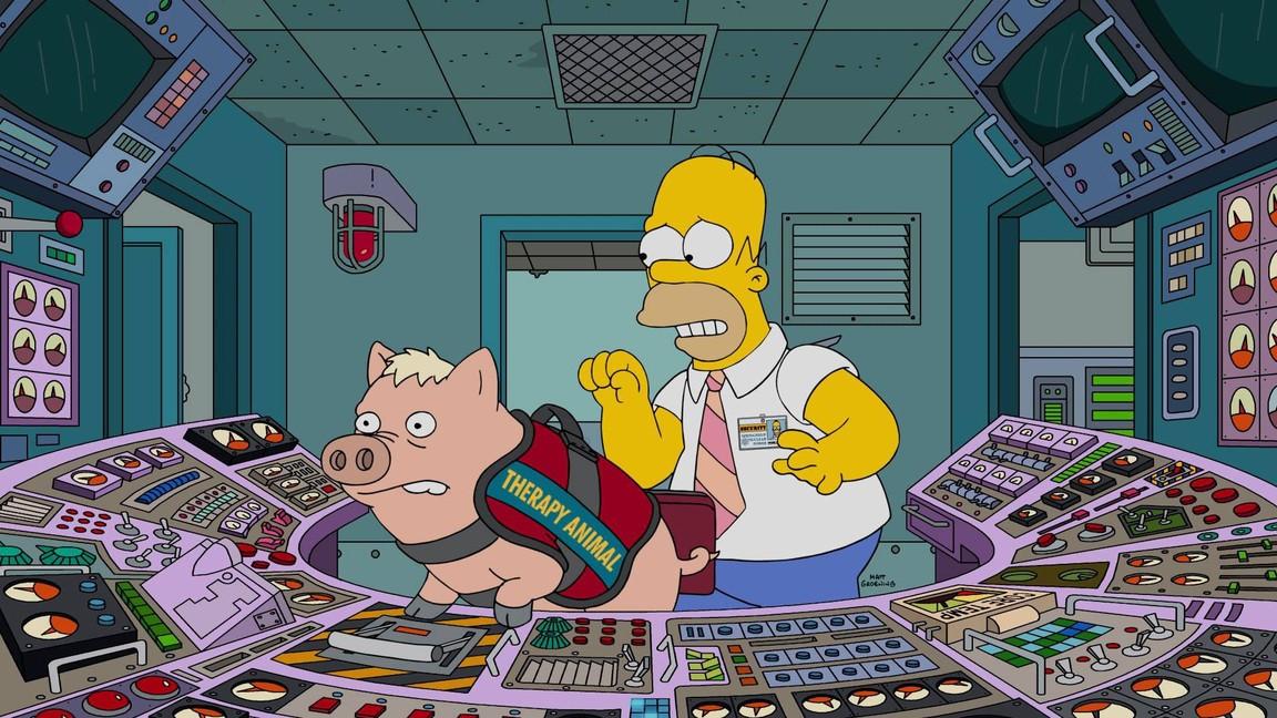 The Simpsons - Season 28 Episode 14: Fatzcarraldo
