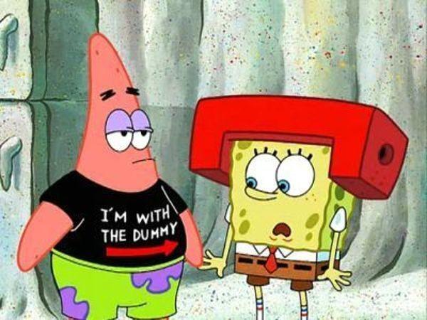 SpongeBob SquarePants - Season 2 Episode 34: I m With Stupid