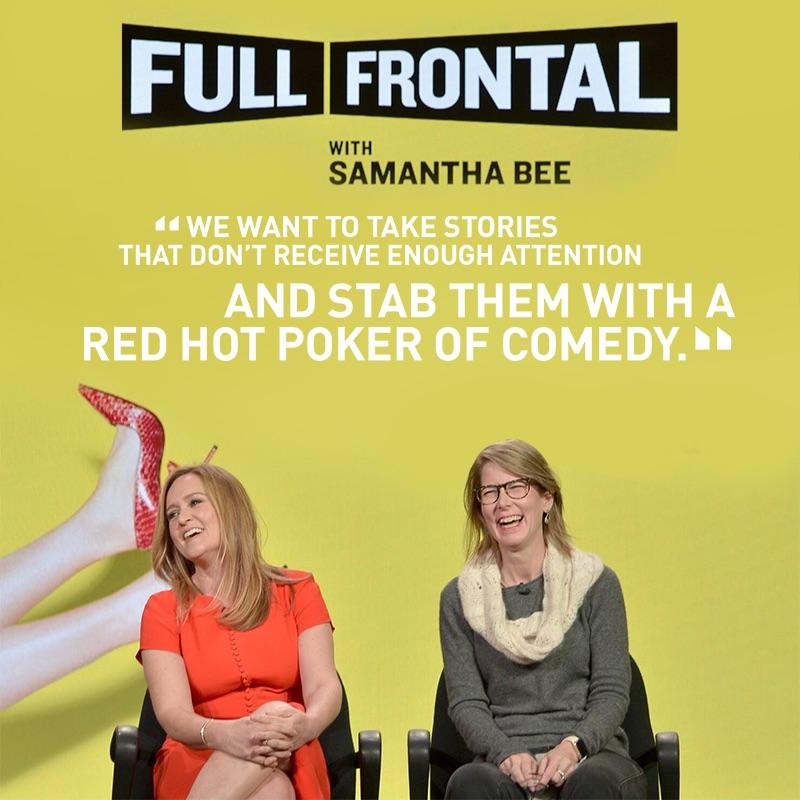 Full Frontal with Samantha Bee- Season 2
