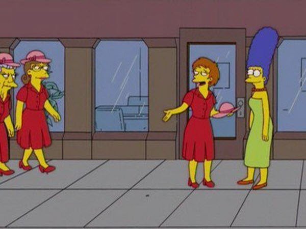 The Simpsons - Season 17 Episode 07: The Last of the Red Hat Mamas