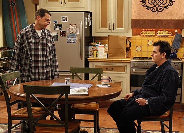 Two and a Half Men - Season 8 Episode 02: A Bottle of Wine and a Jackhammer