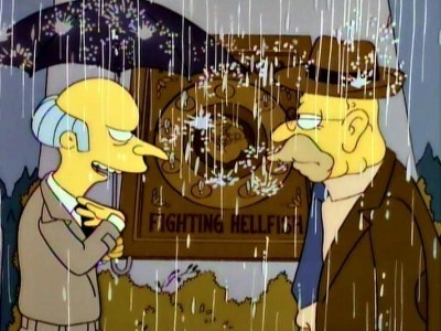 The Simpsons - Season 7 Episode 22: Raging Abe Simpson and His Grumbling Grandson in