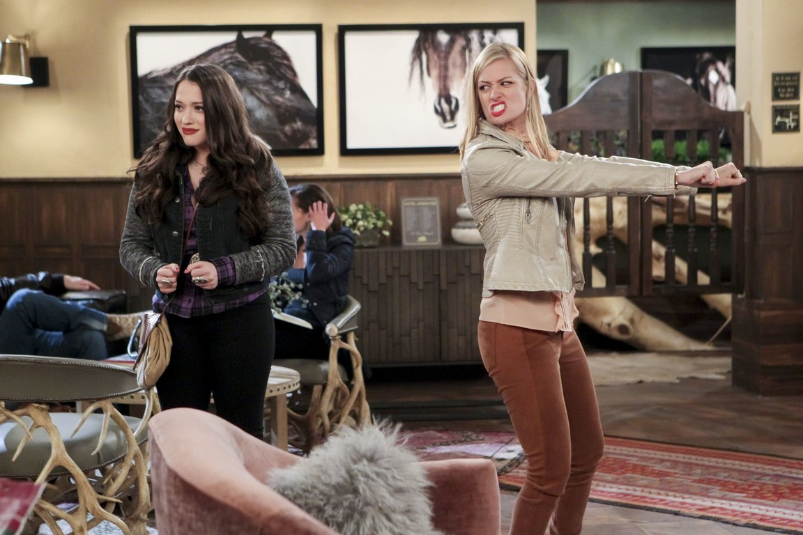 2 Broke Girls - Season 6 Episode 13: And the Stalking Dead