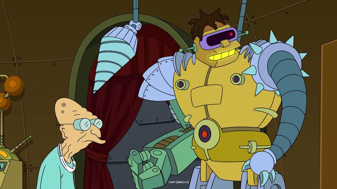 Futurama - Season 7 Episode 07: The Six Million Dollar Mom