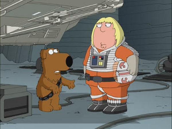 Family Guy - Season 8 Episode 20: Something, Something, Something, Dark Side