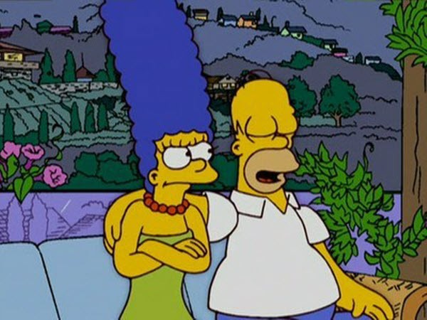 The Simpsons - Season 17 Episode 22: Marge and Homer Turn a Couple Play