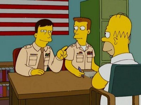 The Simpsons - Season 18 Episode 05: GI (Annoyed Grunt)
