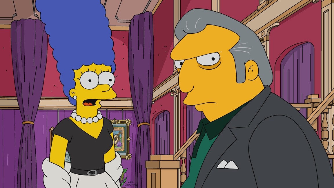 The Simpsons - Season 29 Episode 03: Whistler's Father