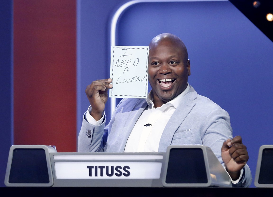 Match Game - Season 1 Episode 01: Debra Messing, JB Smoove, Michael Ian Black, Rosie O'Donnell, Sutton Foster and Tituss Burgess
