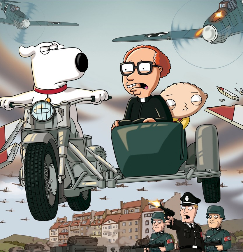Family Guy - Season 7 Episode 3: Road to Germany