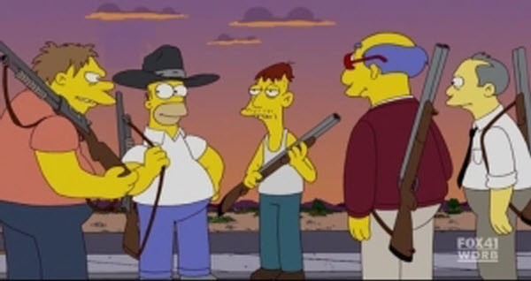 The Simpsons - Season 20 Episode 21: Coming to Homerica