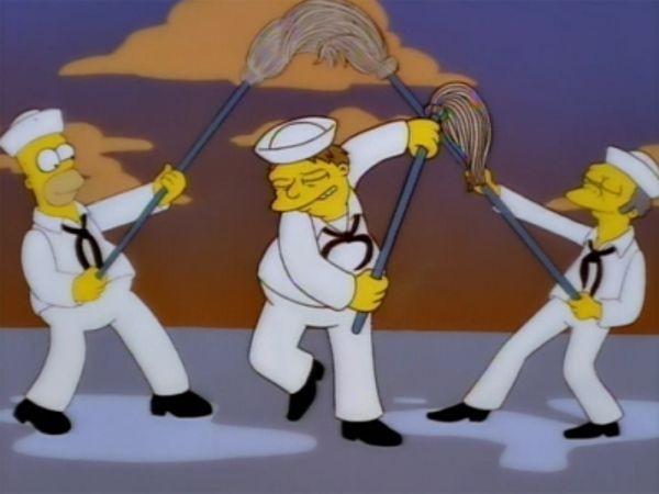 The Simpsons - Season 9 Episode 19: Simpson Tide