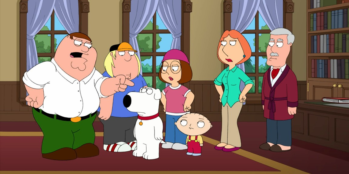 Family Guy - Season 11 Episode 3: The Old Man & the Big 'C'