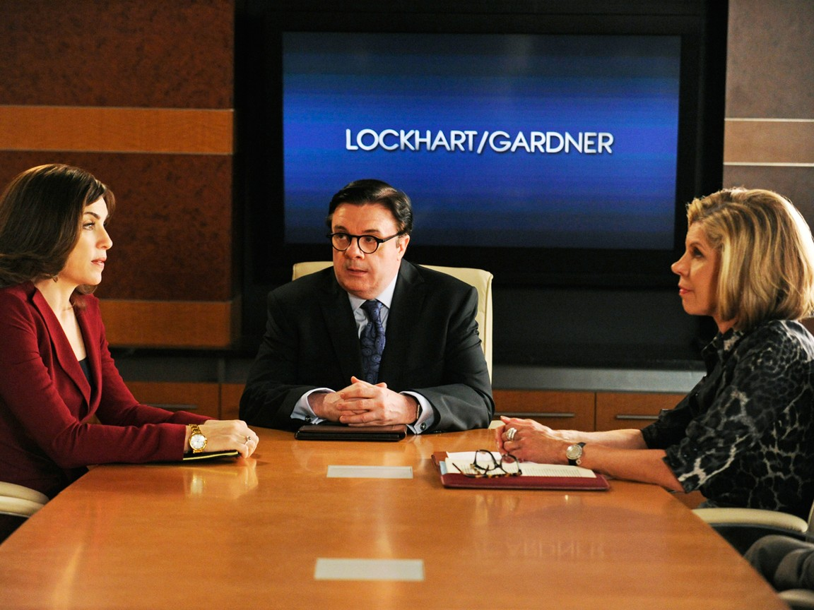 The Good Wife - Season 4 Episode 2 -  And the Law Won