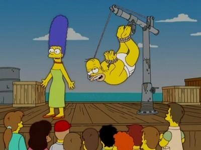 The Simpsons - Season 18 Episode 10: The Wife Aquatic