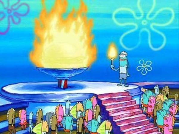 SpongeBob SquarePants - Season 2 Episode 38: The Fry Cook Games