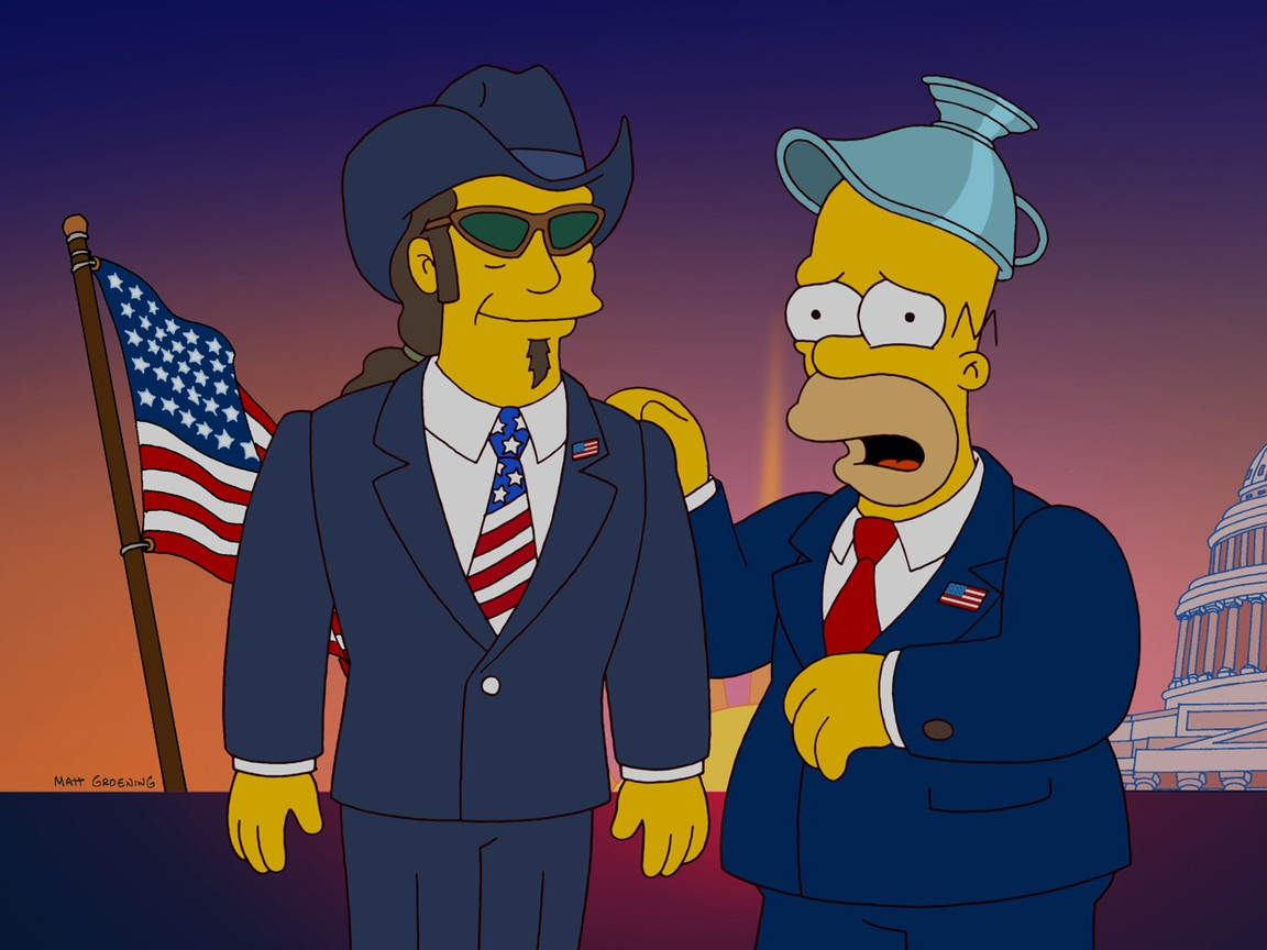 The Simpsons - Season 23 Episode 10: Politically Inept, With Homer Simpson