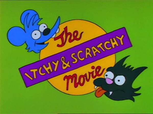The Simpsons - Season 4 Episode 06: Itchy & Scratchy: The Movie