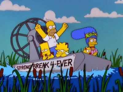 The Simpsons - Season 11 Episode 19: Kill the Alligator and Run