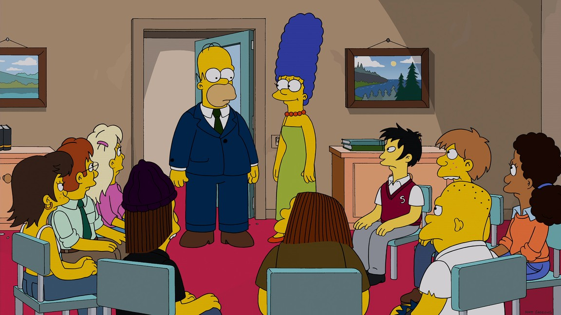 The Simpsons - Season 25 Episode 13: The Man Who Grew Too Much