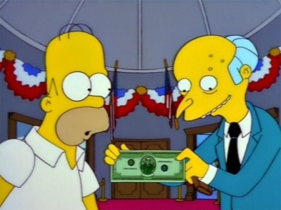 The Simpsons - Season 9 Episode 20: The Trouble With Trillions