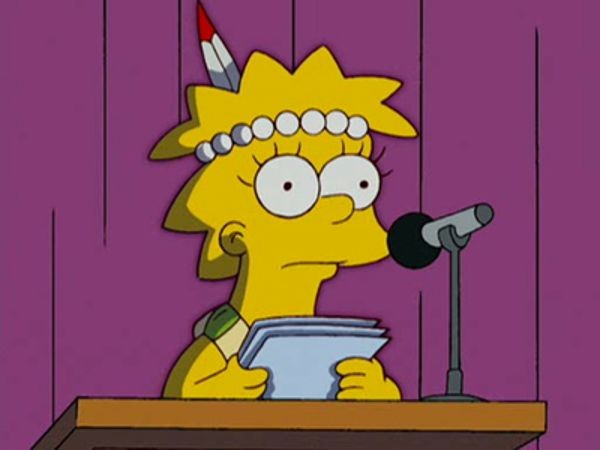 The Simpsons - Season 18 Episode 12: Little Big Girl