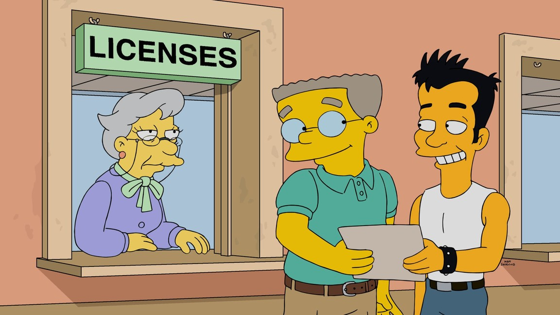 The Simpsons - Season 27 Episode 17: The Burns Cage