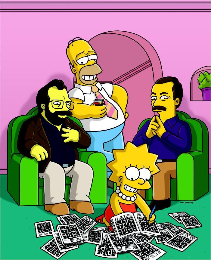 The Simpsons - Season 20 Episode 6: Homer and Lisa Exchange Cross Words
