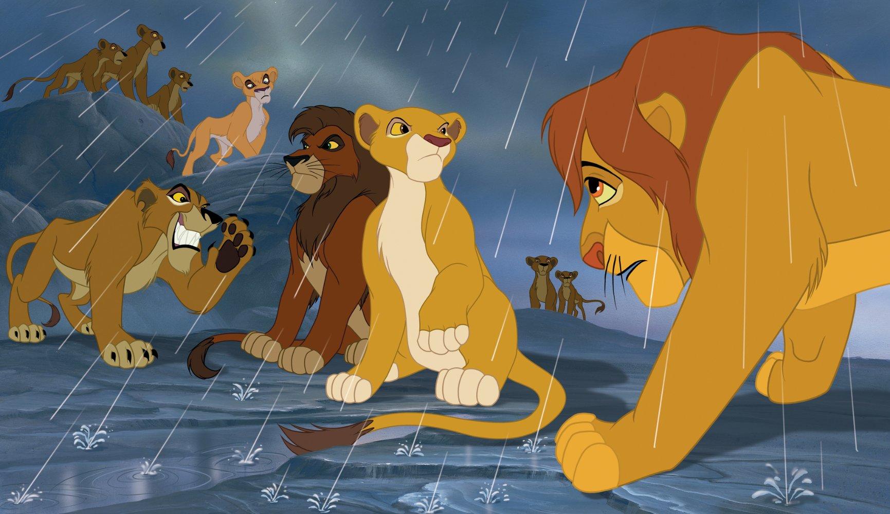 the lion king 2 simbas pride 1998 cast