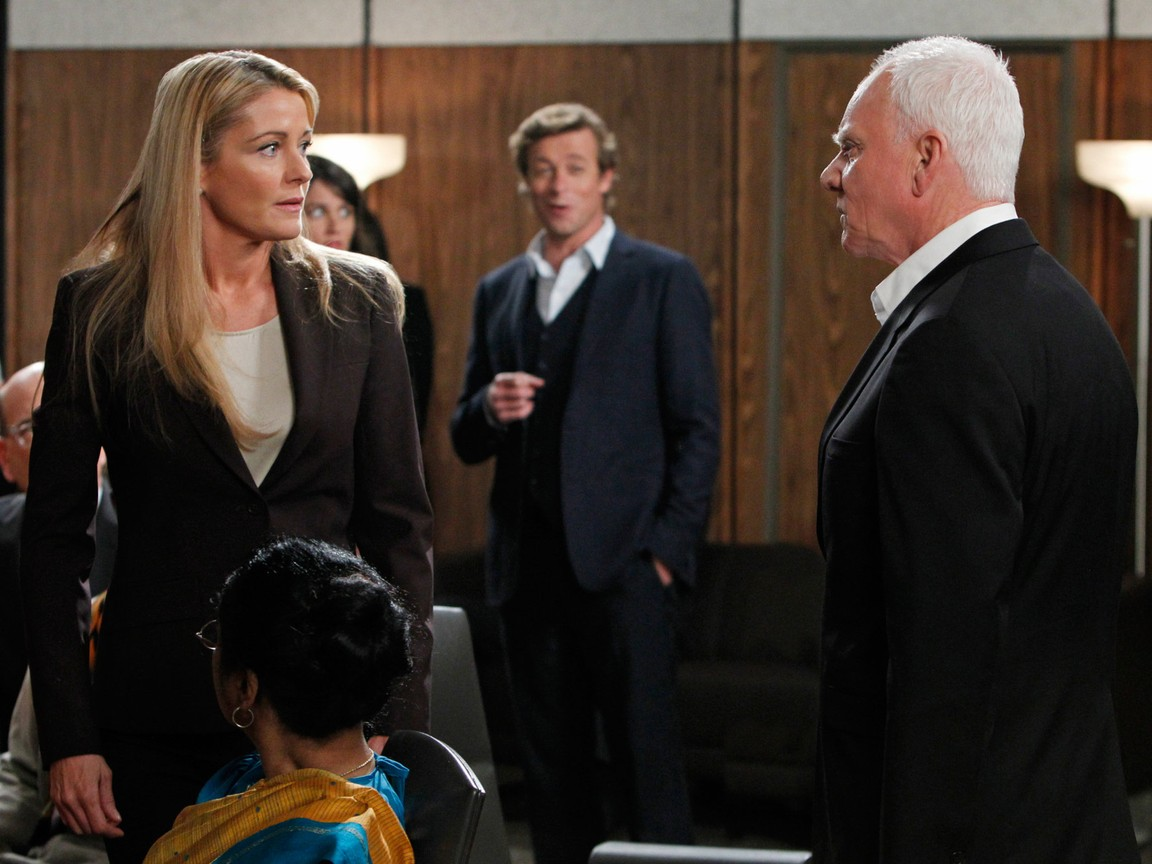 The Mentalist - Season 4 Episode 16 : His Thoughts Were Red Thoughts