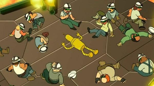 Futurama - Season 7 Episode 18: The Inhuman Torch