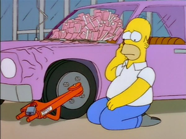 The Simpsons - Season 9 Episode 01: The City of New York vs. Homer Simpson