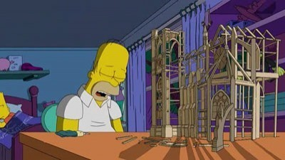 The Simpsons - Season 20 Episode 18: Father Knows Worst