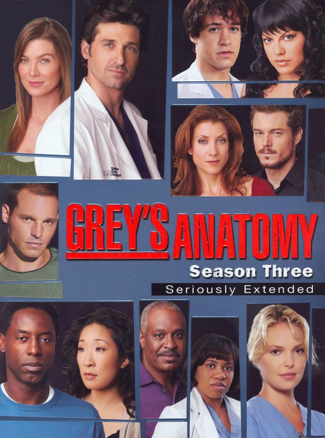 Greys Anatomy - Season 3