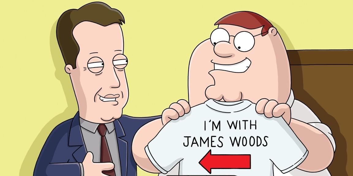 Family Guy - Season 4 Episode 11: Peter's Got Woods