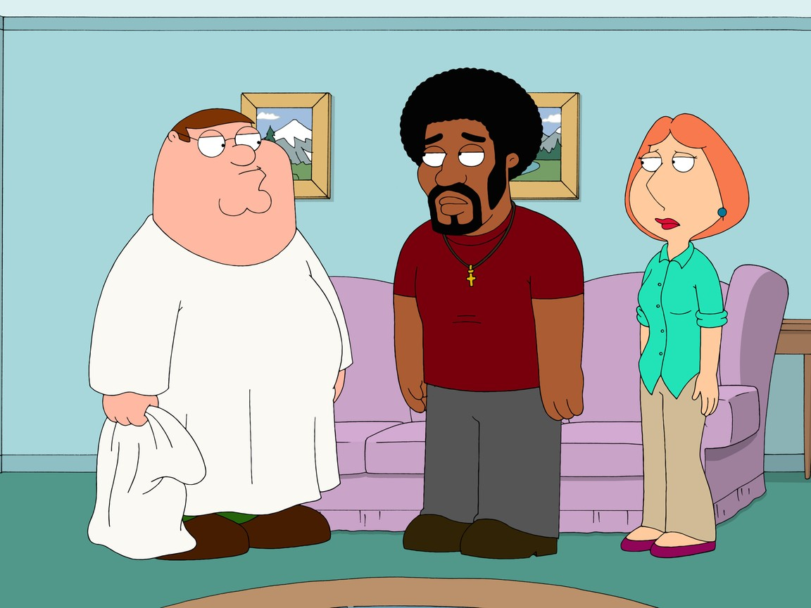 Family Guy - Season 8 Episode 7: Jerome Is the New Black